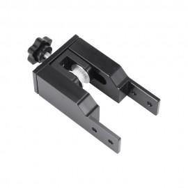 قطعه آلومینیومی نگهدارنده پولی تسمه محور X پرینتر های سه بعدی مناسب برای پروفیل آلومینیومی 20 در 40