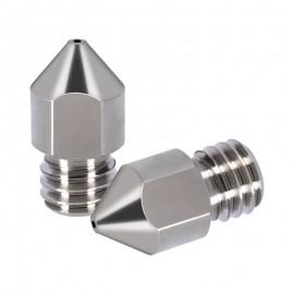 نازل تیتانیومی اکسترودر  0.3mm MK پرینتر سه بعدی مناسب فیلامنت 1.75 میلیمتری