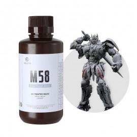 رزین M58 سخت رزیون رنگ خاکستری  Resione M58 Gray Tough ABS Like Resin