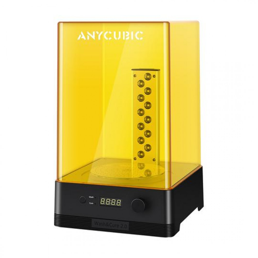 دستگاه شستشو و پخت قطعات زرینی ANYCUBIC Wash & Cure Machine 2.0
