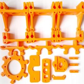 کیت قطعات پلاستیکی پرینتر سه بعدی دلتا Rostock