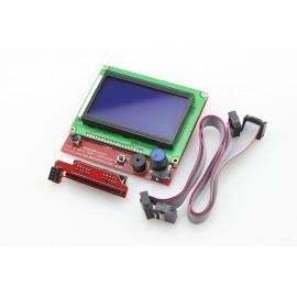 نمایشگر کنترلر پرینتر سه بعدی -  RepRap Discount Full Graphic Smart Controller 12864 LCD