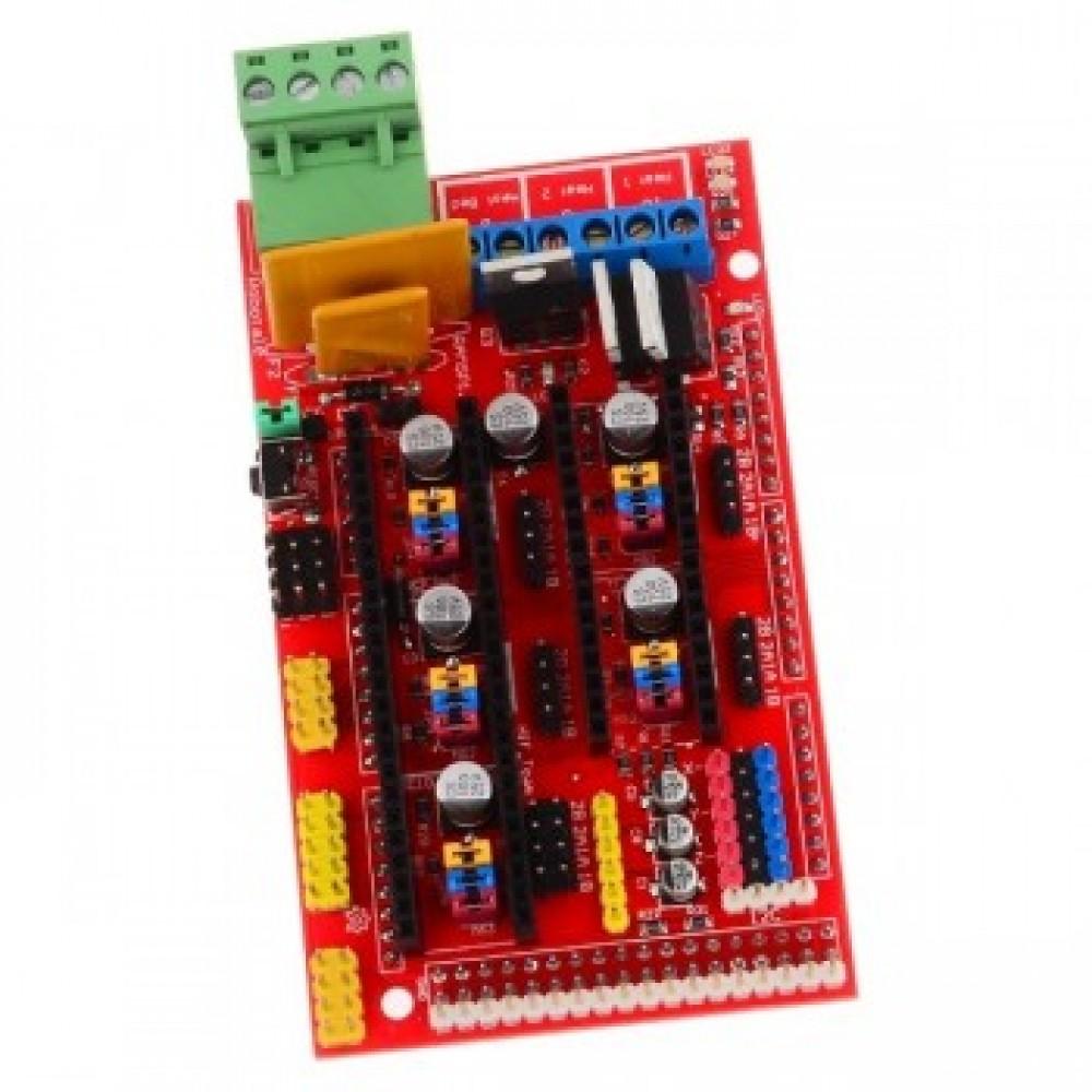 برد کنترلر پرینتر سه بعدی شیلد RAMPS ورژن 1.4 - RepRap
