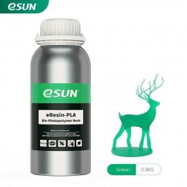 رزین eResin LCD/MSLA پرینتر سه بعدی سبز برند ایسان Esun eResin-PLA Resin Green