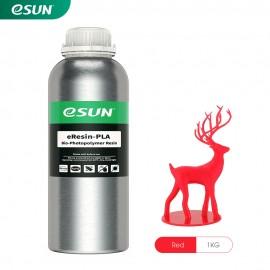 رزین eResin LCD/MSLA پرینتر سه بعدی قرمز برند ایسان Esun eResin-PLA Resin Red