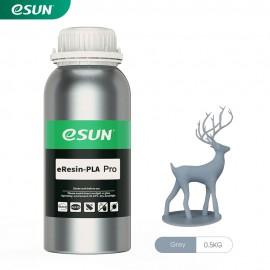 رزین eResin-Pro LCD/MSLA پرینتر سه بعدی خاکستری برند ایسان Esun eResin-PLA Pro Gray