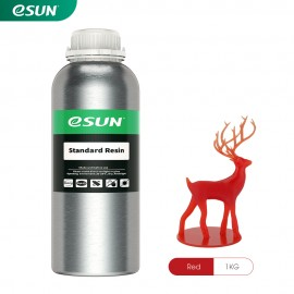 رزین استاندارد LCD/MSLA پرینتر سه بعدی قرمز برند ایسان Esun Standard Resin Red
