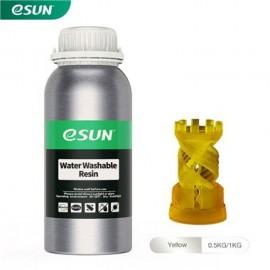 رزین قابل شستشو با آب LCD/MSLA پرینتر سه بعدی زرد برند ایسان Esun Water Washable Resin Yellow