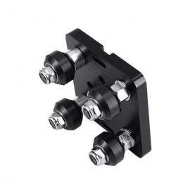 صحفه گنتری سایز مینی مکانیسم چرخ و پروفیل مخصوص پروفیل 20 در 20 Mini V Gantry Kit