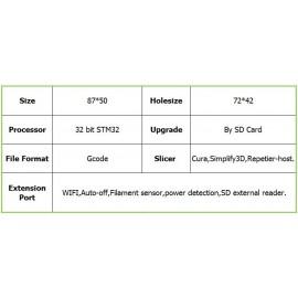 نمایشگر و کنترلر ال سی دی لمسی و رنگی پرینتر سه بعدی مدل MKS TFT24