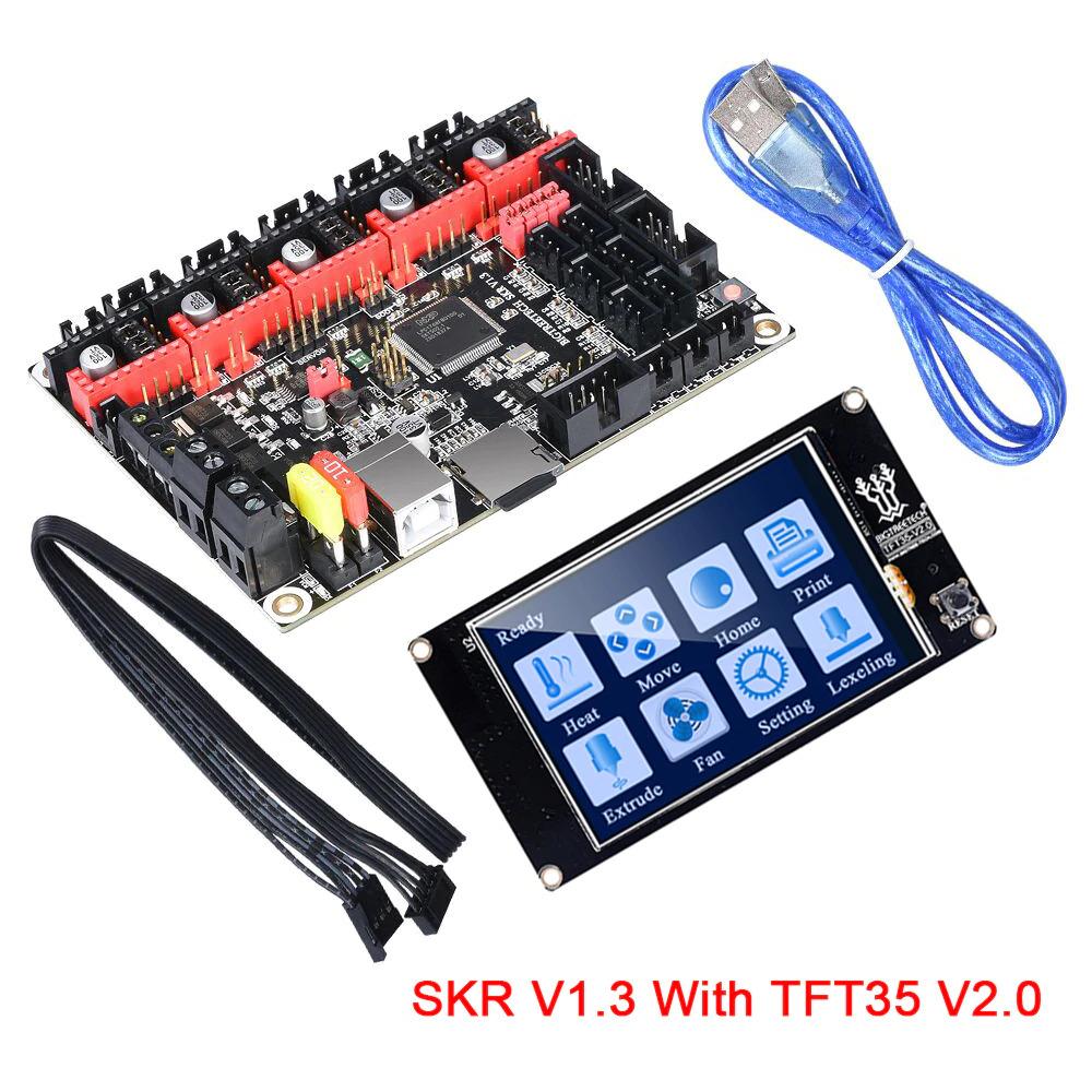 برد کنترلر پرینترهای سه بعدی BIGTREETECH SKR V1.3 control board 32 Bit همراه با نمایشگر TFT35