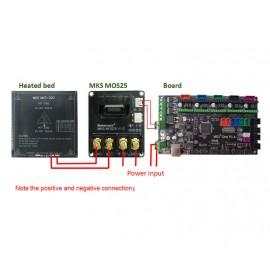 برد توسعه پاور هیت بد و اکسترودر MKS MOS25 V1.0