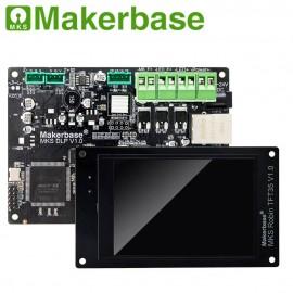 برد کنترلر پرینترهای سه بعدی Makerbase MKS DLP SLA UV LCD Resin همراه با نمایشگر رنگی و لمسی TFT35 و نمایشگر چاپ 5 اینچی 2k شارپ