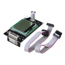 نمایشگر کنترلر پرینتر سه بعدی MKS MINI 12864 همراه با کابل