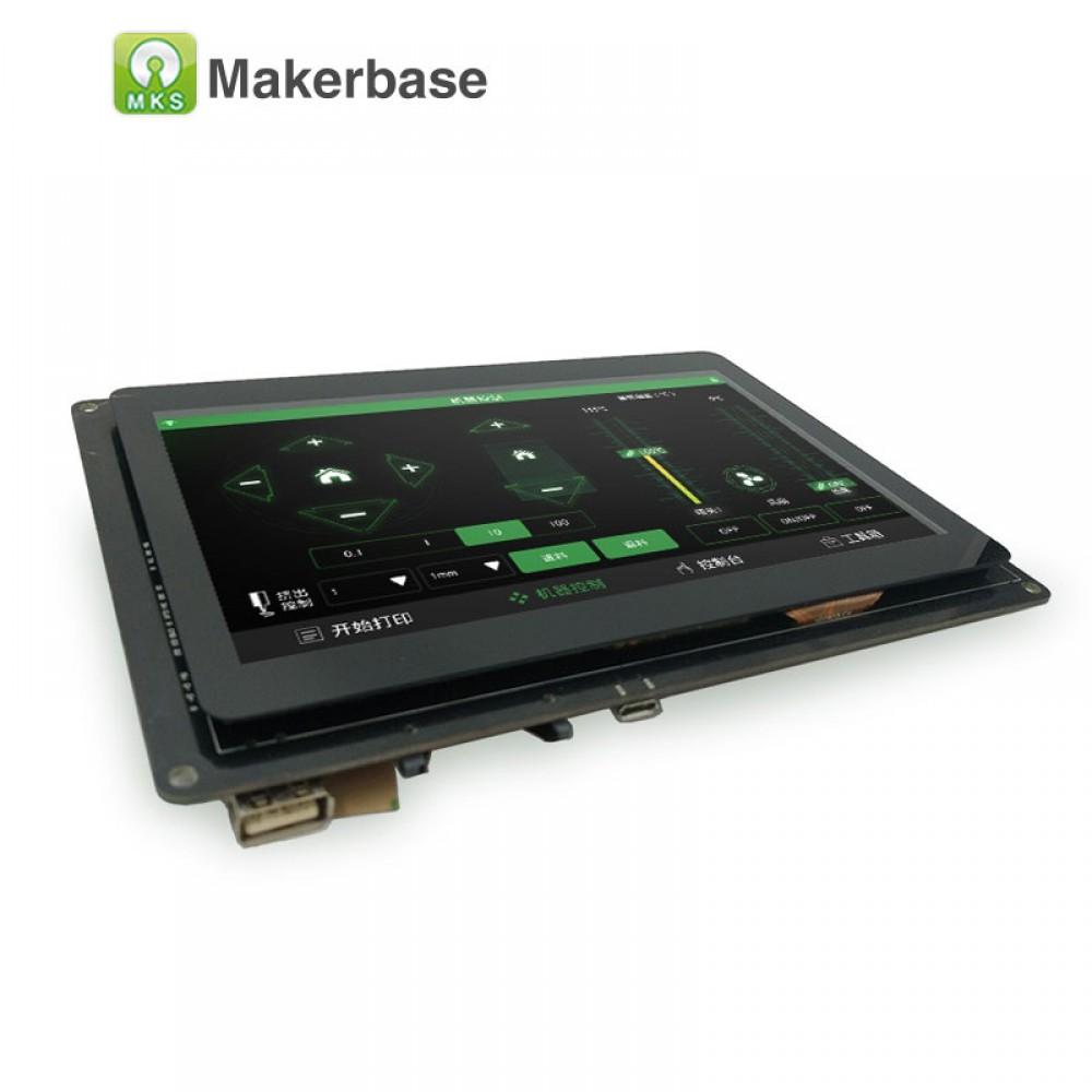 نمایشگر و کنترلر ال سی دی لمسی و رنگی پرینتر سه بعدی مدل MKS PAD7P