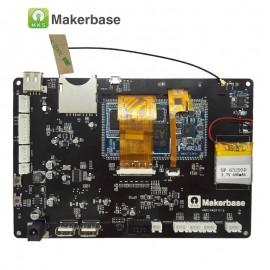 نمایشگر و کنترلر ال سی دی لمسی و رنگی پرینتر سه بعدی مدل MKS PAD7H همراه با دوربین، قاب و آداپتور