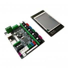 برد کنترلر پرینترهای سه بعدی MKS Robin Nano STM32 همراه با نمایشگر رنگی و لمسی Robin TFT3.2