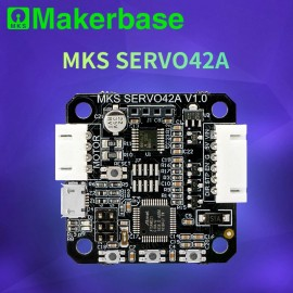استپر موتور دو فاز 1.8 درجه مدار بسته MKS SERVO42A Nema17 همراه با نمایشگر