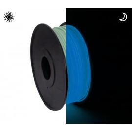 فیلامنت PLA آبی شب نما (درخشان در تاریکی) 1.75mm