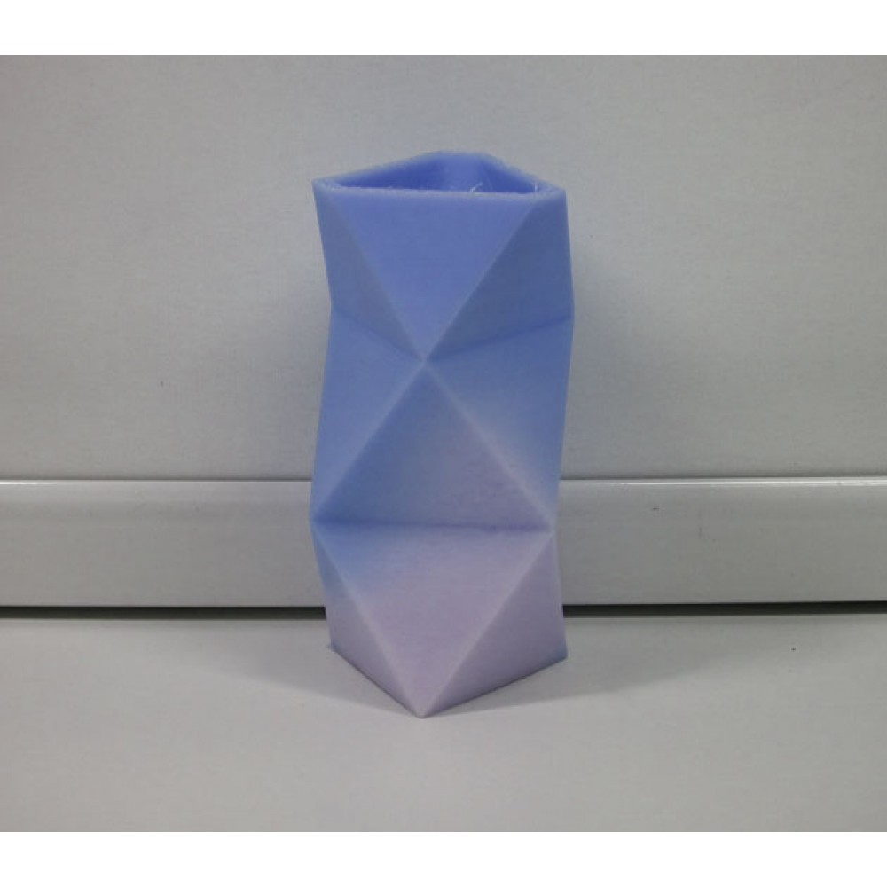 فیلامنت PLA تغییر رنگ در برابر حرارت 1.75mm (سفید به آبی)