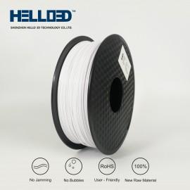 فیلامنت PLA برند HELLO 3D رنگ سفید 1.75mm