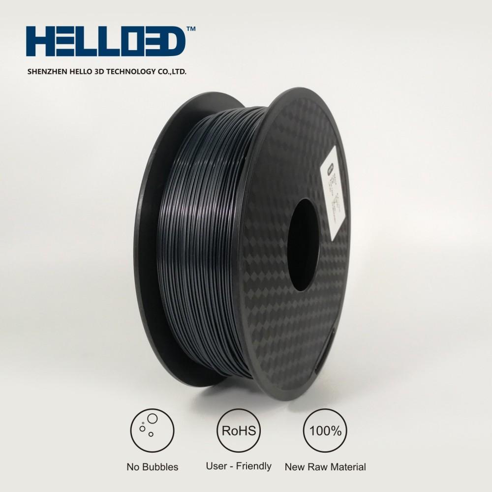 فیلامنت ABS برند HELLO 3D رنگ سیاه 1.75mm