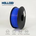 فیلامنت PLA برند HELLO 3D رنگ آبی 1.75mm