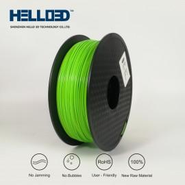 فیلامنت PLA برند HELLO 3D رنگ سبز 1.75mm