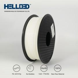 فیلامنت PLA برند HELLO 3D رنگ سفید شیری 1.75mm