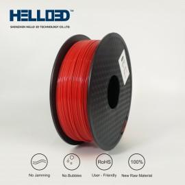 فیلامنت PLA برند HELLO 3D رنگ قرمز 1.75mm