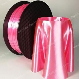 فیلامنت Silk-PLA برند HELLO 3D رنگ صورتی 1.75mm