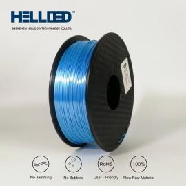فیلامنت Silk-PLA برند HELLO 3D رنگ آبی آسمانی 1.75mm