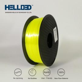 فیلامنت Silk-PLA برند HELLO 3D رنگ زرد 1.75mm