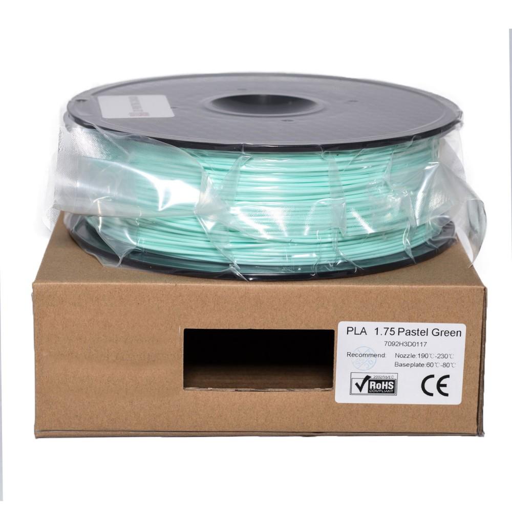 فیلامنت PLA سبز پاستلی 1.75mm