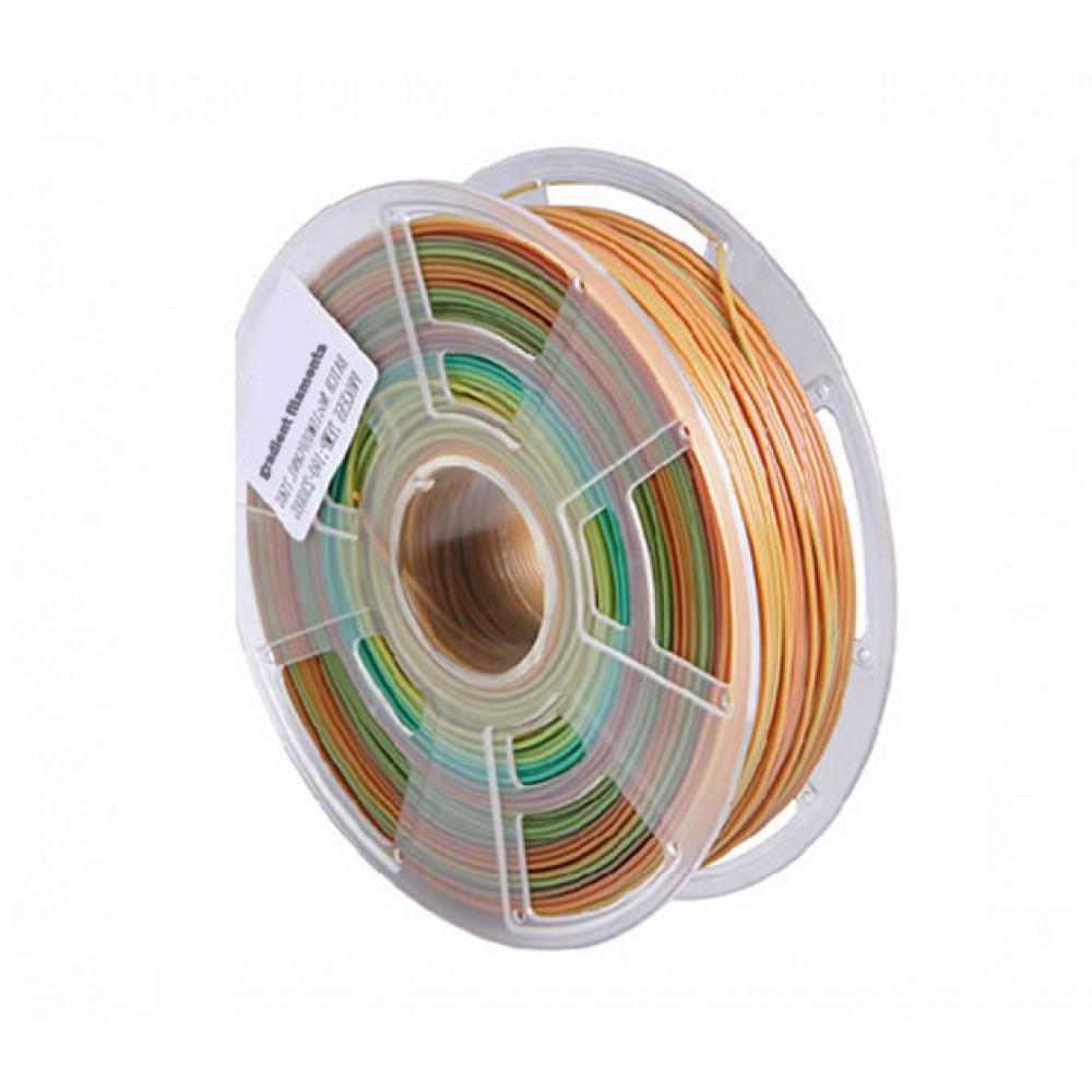 فیلامنت PLA gradient filament چند رنگ1.75mm