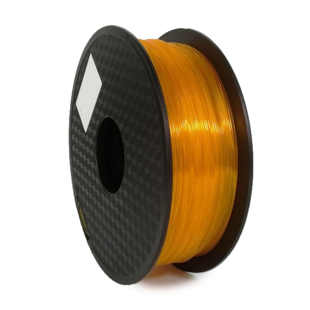 فیلامنت PLA نارنجی شفاف 1.75mm