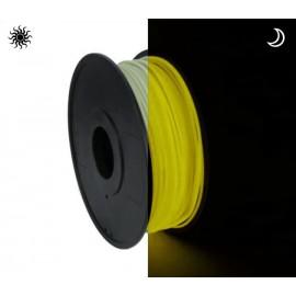 فیلامنت PLA زرد شب نما (درخشان در تاریکی) 1.75mm
