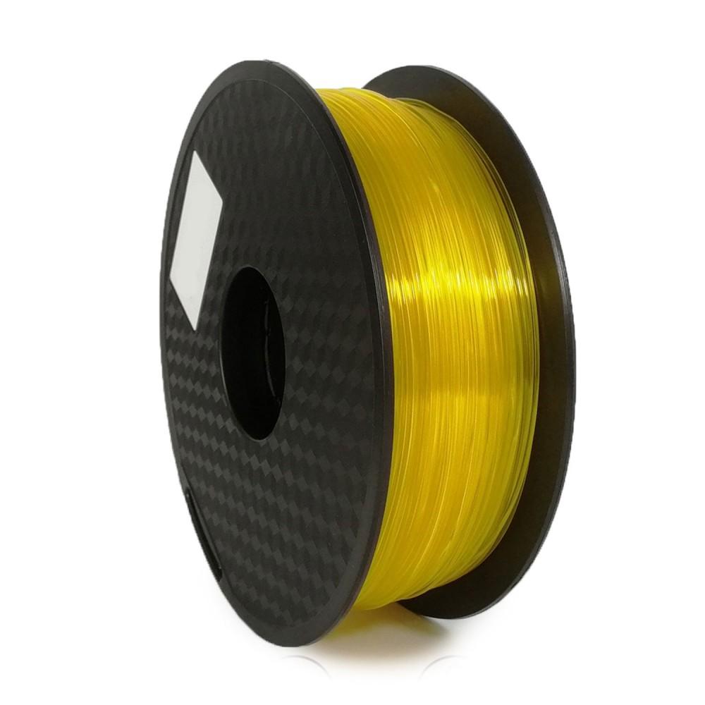 فیلامنت PLA زرد شفاف 1.75mm