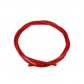 لوله تفلون PTFE با قطرخارجی4 و قطر داخلی2 قرمز