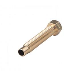 نازل و پیچ سوراخدار یک تکه 0.2mm اکسترودر MK8 با لوله PTFE