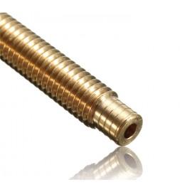 نازل و پیچ سوراخدار یک تکه 0.5mm اکسترودر MK8 بدون نیاز به PTFE