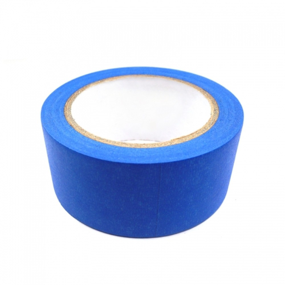 """نوار چسب مقاوم در برابر حرارت """"بلو تیپ"""" blue masking tape"""