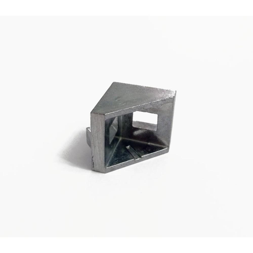 نبشی آلومینیومی 90 درجه مناسب برای پروفیل آلومینیومی سری 20