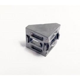 نبشی آلومینیومی 90 درجه مناسب برای پروفیل آلومینیومی سری 30