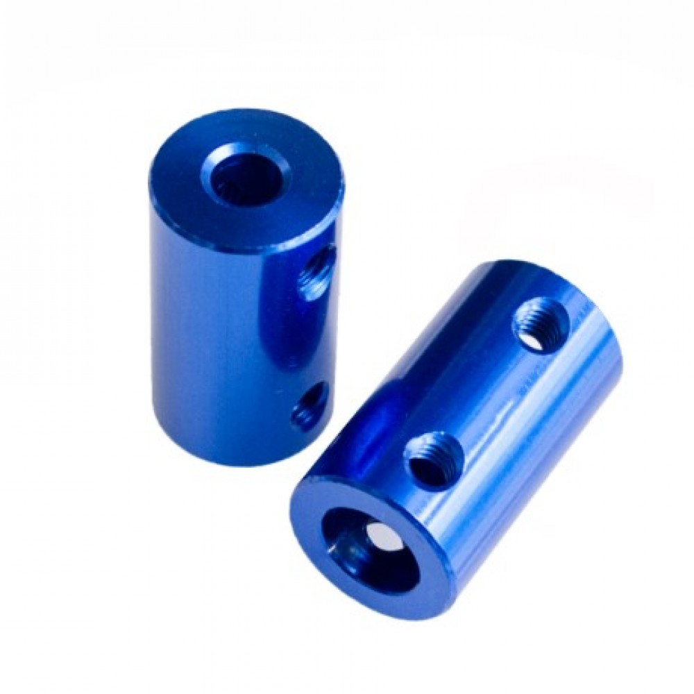 کوپلینگ آلومینیومی آبی 5 به 5