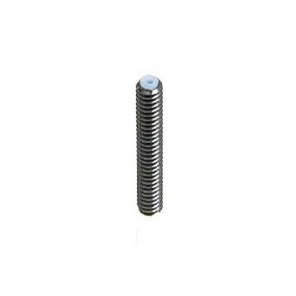 پیچ سوراخدار اکسترودر پرینتر سه بعدی MK8 M6X35 با لوله تفلون داخلی بدون یقه