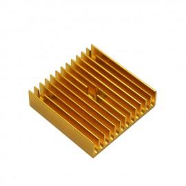 هیت سینک طلایی 40x40x11 میلی متر - HEAT SINK نوع B