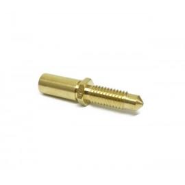 نازل و پیچ سوراخدار یک تکه مخصوص اکسترودر MK - قطر نازل 0.2mm