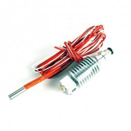 Hotend مدل  bowden E3D V6 (فیلامنت 1.75MM، نازل 0.4MM)