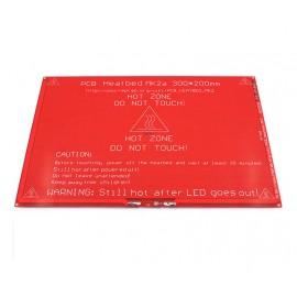 هیت بد(PCB Heated Bed) مدل MK2a ابعاد 214x314 میلیمتری